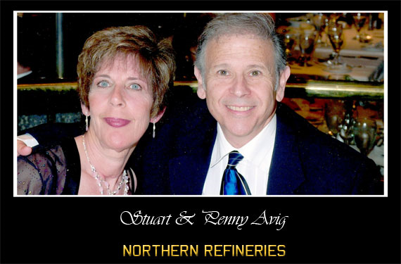 Penny and Stuart Avig, Northern Refineries